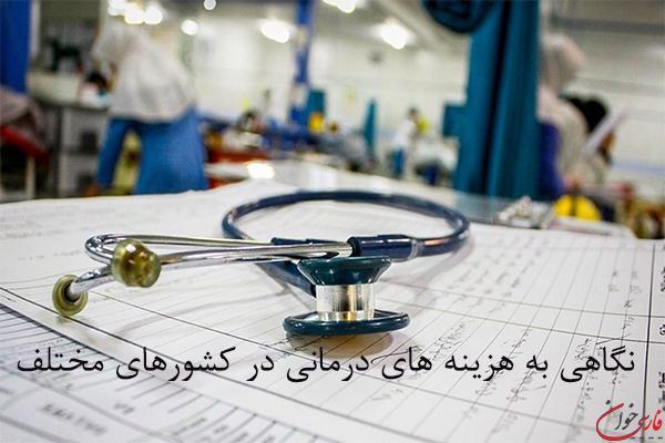 هزینه های درمان در کشورهای مختلف