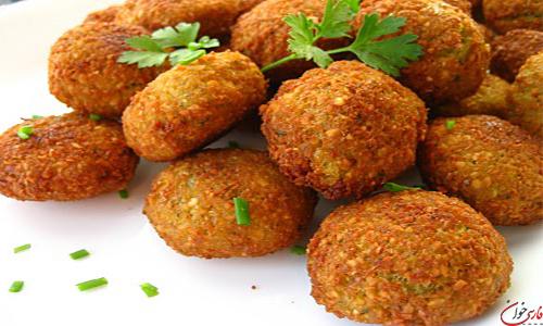 طرز تهیه فلافل لبنانی در منزل