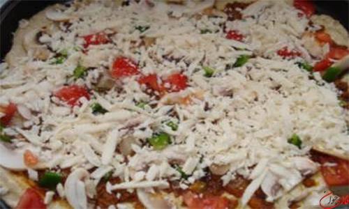 دستور پخت پیتزا تابه ای
